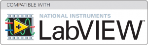 Compatible with LabVIEW