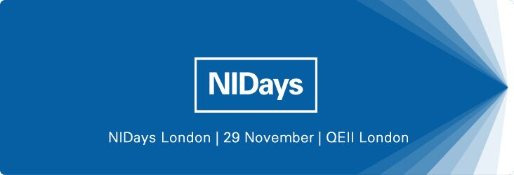 Come And See Us At NIDays 2016 – London
